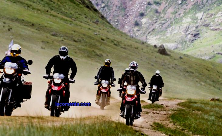 Golden Mountains - motorcycle trip to Altai