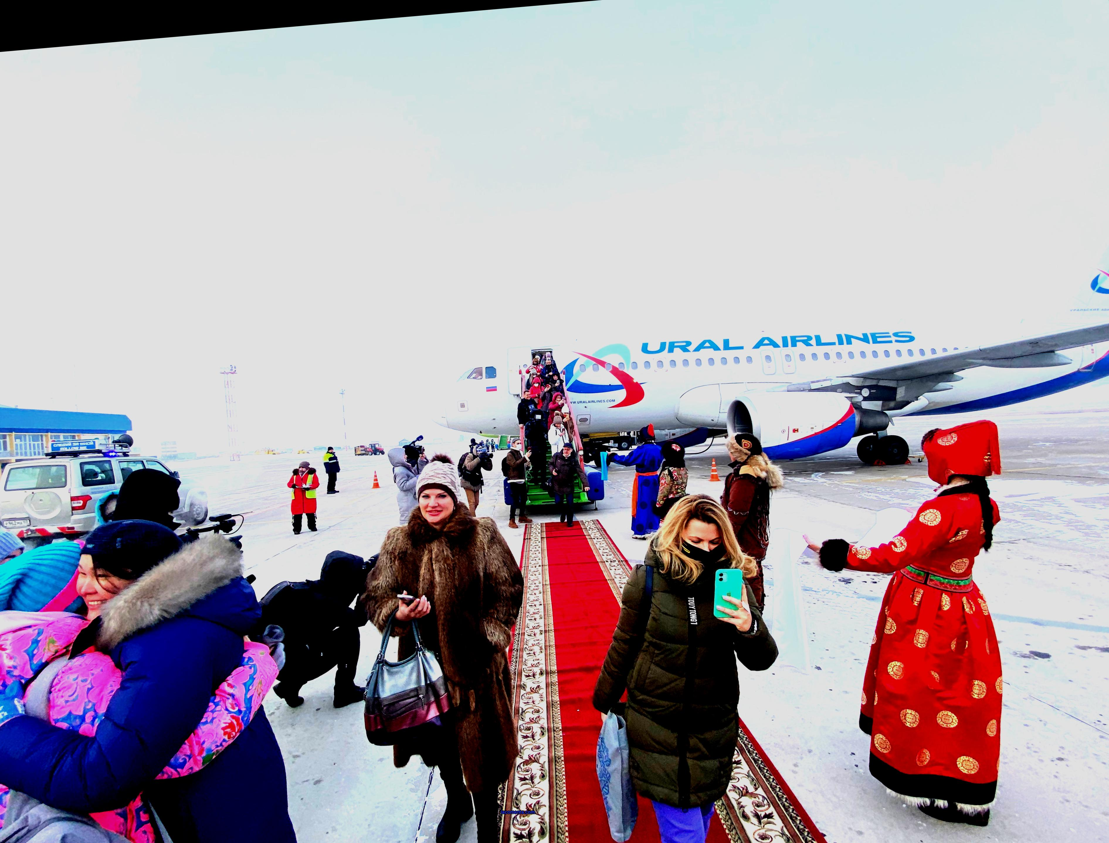 The first winter charter flights of TUI arrived in Buryatia