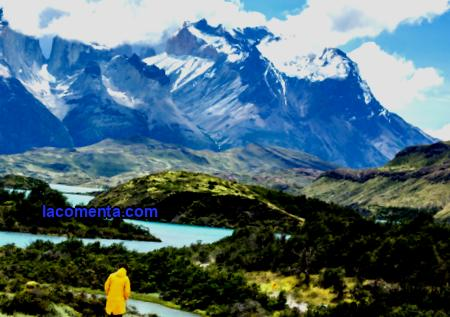 Gastronomic tourism of Chile Mountain landscapes of Patagonia, the driest desert in the world Atacama, mystical Easter Island, Andes, active volcanoes, marble grottoes, evergreen forests of the cold