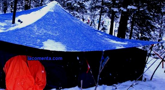 How to find a tent for your winter hike and fishing