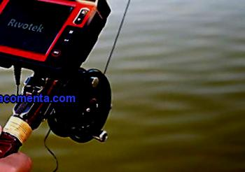 Underwater camera for angler