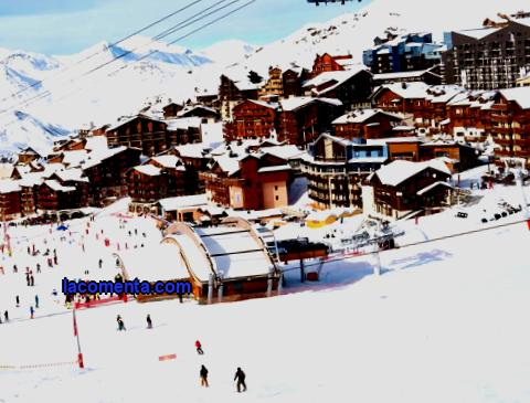 Family fun in ski resorts in the French Alps
