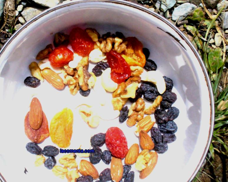 Meals on a hike without meat