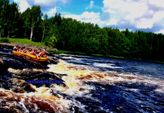 Active rest in Karelia has been incredibly popular since Soviet times, when hundreds of water tourists rushed in the summer to rafting along the fast Karelian