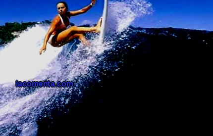 Sports tourism surfing