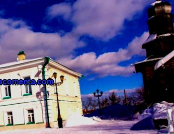 Popular sights of Tomsk