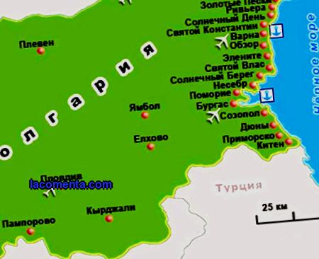 Bulgaria General information How to get there History Climate Cities and regions What to see What to do Getting around the country Communication Cuisine