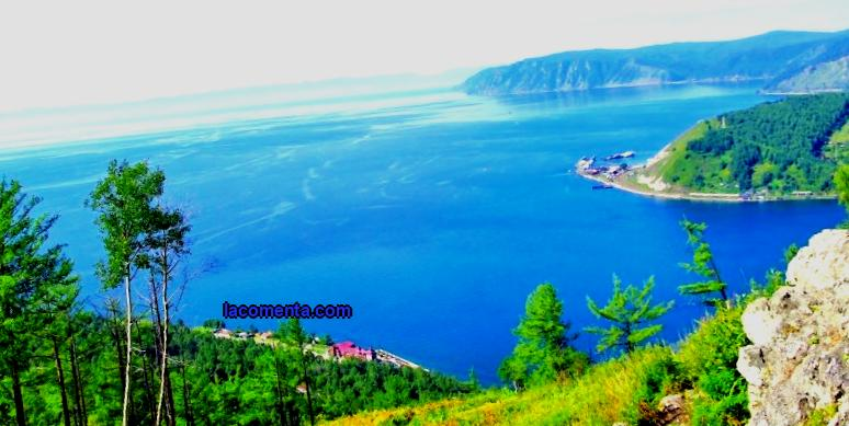 Rest on Lake Baikal in summer
