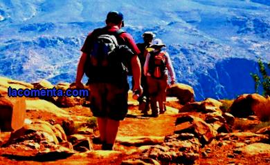 Despite the increased number of cars, flights and sea cruises, hiking continues to be popular with travelers.