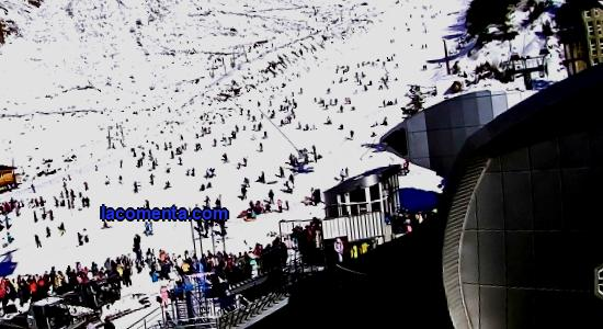 Description of Azau - a ski resort in the Elbrus region