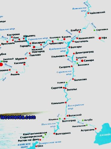 River cruises on rivers and lakes of the European part of Russia
