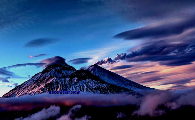 The most beautiful volcanoes of Kamchatka