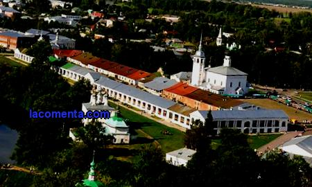 Suzdal city in Russia