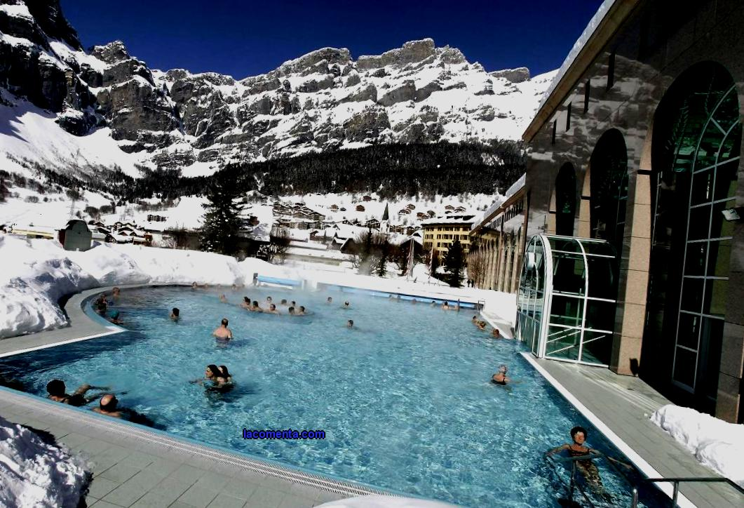 Thermal resorts in Switzerland