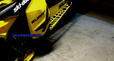 BRP snowmobiles: range and range of accessories