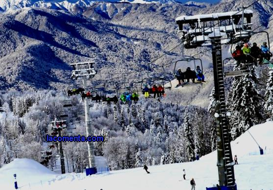 Top 5 ski resorts in the Caucasus