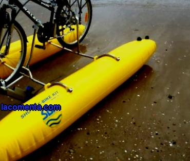 It is also interesting that this device can be made in an independent way. Such a water bike with your own hands will not be inferior to the purchased option; several basic elements will be required for manufacturing.