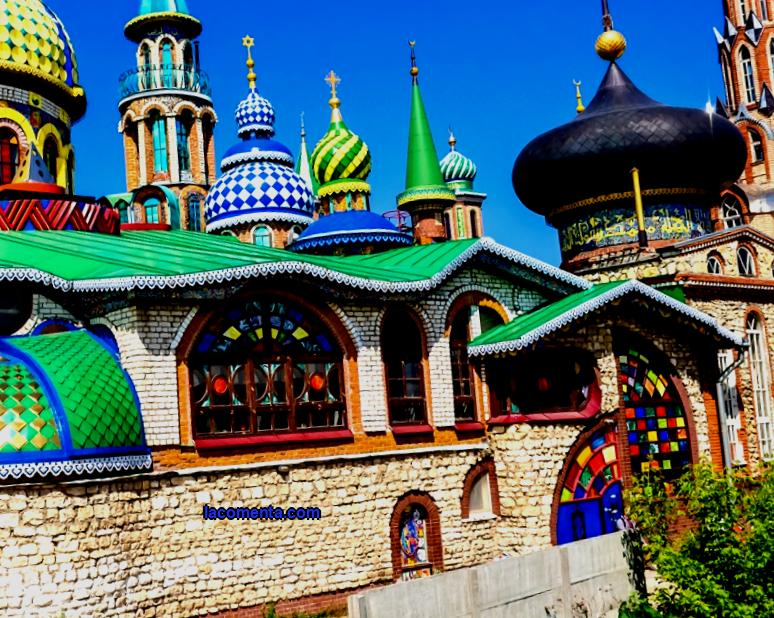 Photo, video, history of creation, architecture, address, idea of a temple of all religions in Kazan - a monument of religions and the most unusual monument of religions in the world