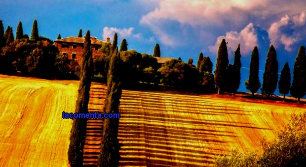 To sublime and beautiful - welcome to Tuscany