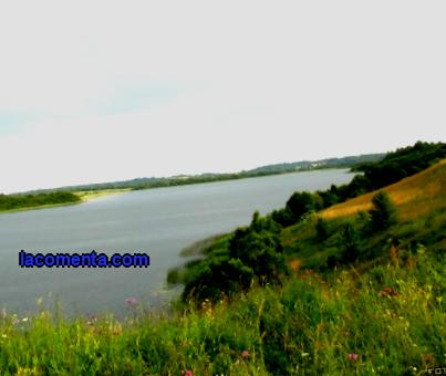 Belarusian Poozerie - a water trip to; kayaks on; Ushachsky lakes before; Polotsk